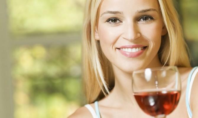 влияние красного вина на жинщин