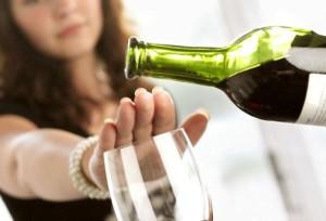 отказ от бокала вина