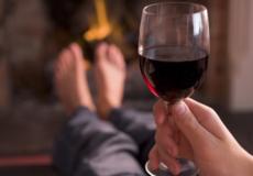питье вина