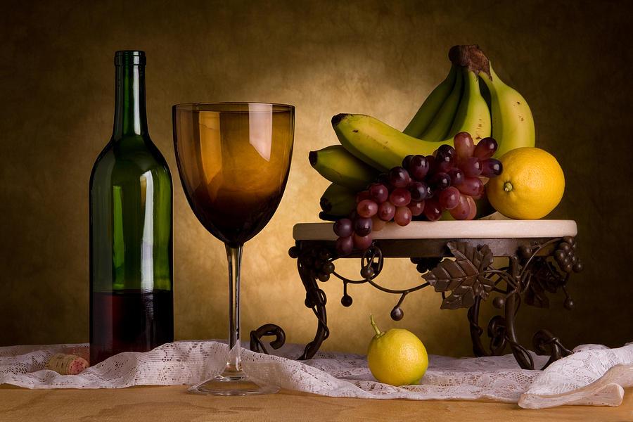 фрукты к полусладкому вину