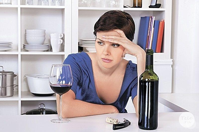 вред красного вина для организма
