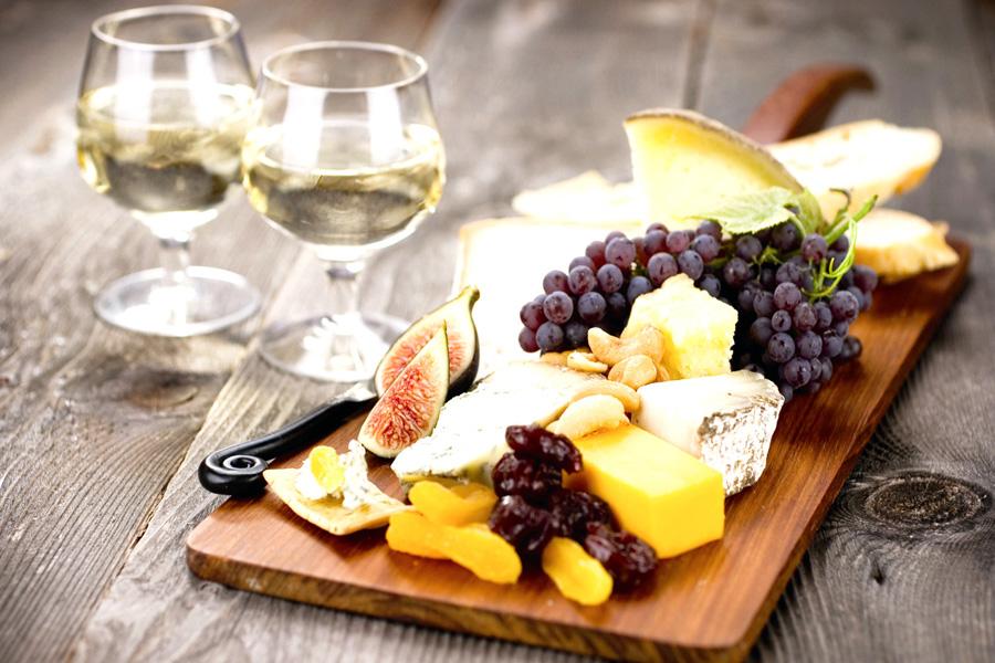 закуска к белому вину