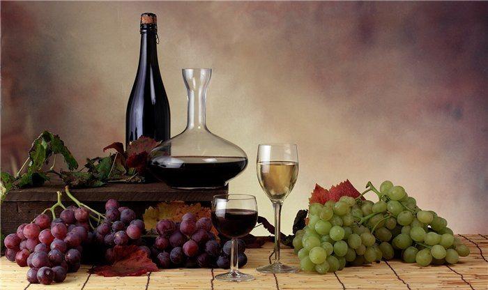 калорийность полусладкого вина