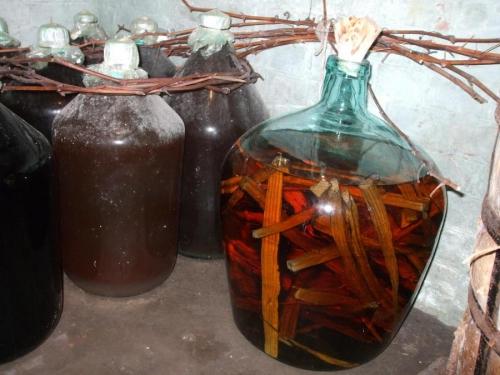 этап изготовления коньяка