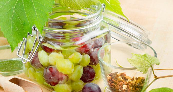 маринование винограда