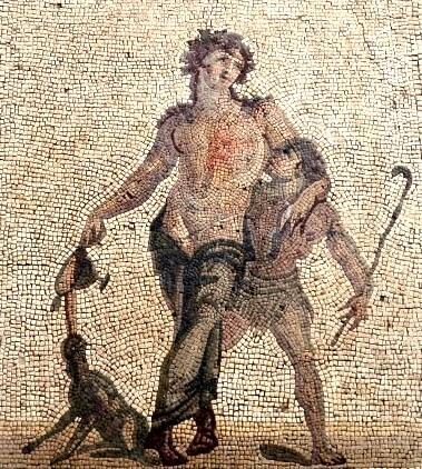 Бог винограда Дионис