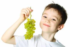 усвоение винограда до 2 лет