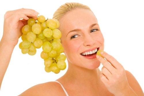 виноград при похудении